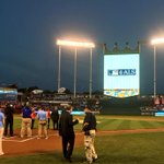 RT @Royals: Today's Game 2 #WorldSeries pregame ceremony is centered around ALS Awareness and the fight to find a cure. http://t.co/eN3kgVRiuA