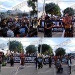 Inicia marcha de la S-22, estudiantes y organizaciones sociales en Av Universidad, se dirigen al zócalo #Oaxaca http://t.co/PMvplhjoBh