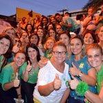 RT @MarciaDVarella: Caminhada mulheres, clima de VITORIA sem igual. @HenriqueEAlves GOVERNADOR 15 ????#QuemComparaVota15 #ForçaParaMudarRN http://t.co/9J2h7KiCE7