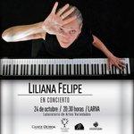 Este viernes 24 de octubre a las 20: 30 horas @_LilianaFelipe en @ForoLARVA en #Guadalajara http://t.co/VKJ7UHBYXh