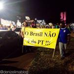 Em Brasília foi dado o recado: O Brasil não é do PT! #SouAécio #VemPraRuaDia22 #Aecio45PeloBrasil http://t.co/drUUjZZDXw