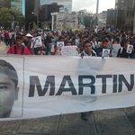 RT @Coordinadora1DM: Miles exigen #JusticiaParaAyotzinapa castigo a narcogobiernos Vivos los queremos @julioastillero @JohnMAckerman http://t.co/YaHIeOlGYj