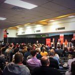 RT @Naveen_Girn: A great turnout @langaracollege for the Mayor candidates debate. Great seeing students get involved! #vanpoli http://t.co/Lqg8SfCil3