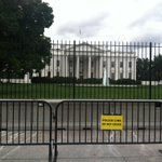 RT @jbendery: Unbelievable the White House fence jumper wasnt deterred by Secret Services new signs and little gates. http://t.co/NLyIWj7Q6L