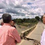 RT @netsalvatierra: Buenas tardes, hoy realizamos recorrido de evaluación de daños en el puente San Lucas en Cuilapam. #Oaxaca @GabinoCue http://t.co/JTRdgQW5XT