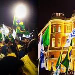 RT @_souaecio: Foi lindo ver as bandeiras do Brasil tremulando no Marco Zero em Recife. Pernambuco tá com Aécio! #VemPraRuaDia22 http://t.co/SG7c7JJZzl