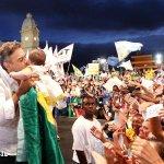 RT @AecioBlog: Registro feito hoje, em Belo Horizonte (MG), no comício de Aécio - Foto: Orlando Brito #Aecio45PeloBrasil http://t.co/9B2h2jGlSb