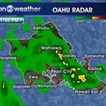 Flood advisory for Oahu until 4:45 p.m. http://t.co/SH1BAnCfS1 #808news http://t.co/tbR1Mjkz34