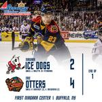 RT @ErieOtters: Alex DeBrincat and Kurtis MacDermid each add a pair, putting the #Otters up 4-2 after 1 #OneGoal http://t.co/RM1fxedXsF