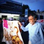 Se suma maestro Francisco Toledo a protesta #UnaLuzPorAyotzinapa en #oaxaca @OVelezA @SECCIONXXII http://t.co/ldhQTUq38H