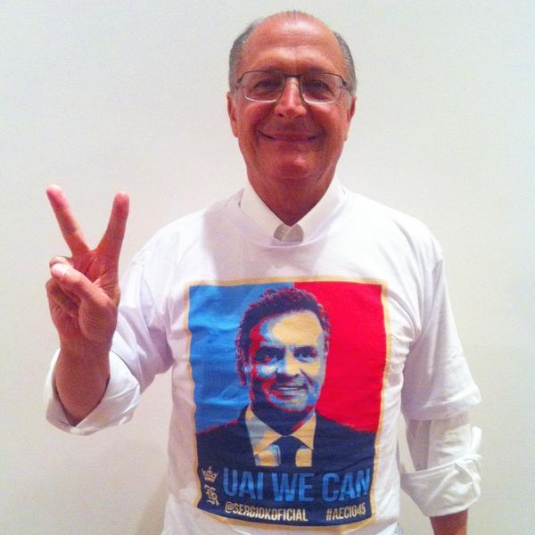 Uai, nós podemos! #Aécio45  #Aecio45PeloBrasil  Boa noite a todos http://t.co/S6BnMp50in