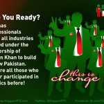 RT @iSupportPTI: We are ready to build #NayaPakistan with #ImranKhan - Are You? #Pakistan #PTI http://t.co/kJq9sQ1psg