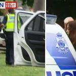 Woman taken into custody at Traralgon, in connection with this mornings dramatic pursuit. Full coverage #9NewsAt6 http://t.co/yyhZkaONNX