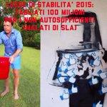RT @Estate_2014: Vi ricordate Renzi, lIceBucketChallenge etc. ...Ha tagliato 100 milioni per i malati di SLA. http://t.co/wgcDUrPa4f http://t.co/wr9QCa5niE