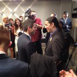 RT @kubinecv: Robert-Falcon Ouellette congratulates the new mayor of Winnipeg, Brian Bowman. #wpg14 #cbcmb http://t.co/b98cin64oQ