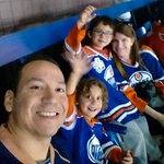 RT @EdmontonOilers: #WeAreOilCountry selfie! --> RT @leith_eh_c Brought the family out again to the @EdmontonOilers lets go boys! http://t.co/l1JLgqdqMZ