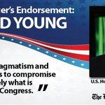 RT @DMRegister: .@YoungForIowas pragmatism earns @DMRegister editorial board nod for #IA03: http://t.co/829jjs4K0n http://t.co/wuzmjPVLKI