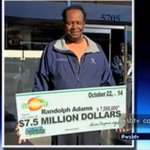 RT @wsbtv: Congrats, Mr. Adams! Atlanta truck driver wins $7.5 million lottery ticket. WATCH: http://t.co/Eq5z5ZxogN http://t.co/2XrdbTRaow