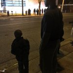 RT @deray: Father. Son. Protest. #Ferguson http://t.co/ylXaCEP75D