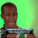RT @CSNNE: WATCH: Rajon Rondo talks 1-on-1 with Mike Gorman about his head coach and #Celtics rookies http://t.co/0fHKIPurPo http://t.co/9b6F8HpHJN