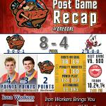 Otters win in front of 11,000+ in the First Niagara Center! #OneGoal http://t.co/G9rr9gzNKf