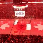 RT @NHLexpertpicks: The Consol Energy Center in #Pittsburgh tonight. Class act, much appreciated in #Canada and #Ottawa. http://t.co/A2ISzm9vra