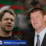 "RT @TenNewsSydney: ""This is a very proud day for my family"" – James Packer purchases 37.5% of the South Sydney #Rabbitohs. #TenNews 5pm http://t.co/4HVSX6Is84"