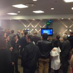 Big cheer from Bowman headquarters as latest poll numbers show Bowman lead of about 800 votes http://t.co/gAg8QqhWG2