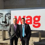 Great to have a civic leader who champions #art and #culture in #Winnipeg @wag_ca http://t.co/vyyJ8NfbL5