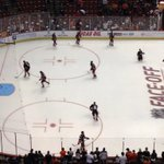 RT @AnaheimDucks: The view from the press box for warmups tonight. @f_andersen30 goes for the #NHLDucks tonight. #BUFvsANA http://t.co/FbAOBCnpCH