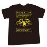 RT @fashionsnap: 【今日】SF作家フィリップ・K・ディックの財団公認ブランド「PKD」ローンチ、小説「アンドロイドは電気羊の夢を見るか?」のデザインTシャツ発売 http://t.co/Sfujq7MUWR http://t.co/l64KkVW2Ie