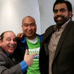 With @obbykhan60 & @artalexander fellow members of #BowmanNation...we are all #BowmanNation! #Winnipeg http://t.co/aByRuCin8r