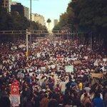 RT @mariocampos: Vi una marcha con enojo pero también con música, con cantos, con mucha fuerza. Una marcha de jóvenes. http://t.co/6fDRLQJp5n