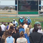 An emotional service is underway for fallen jockey Caitlin Forrest. Details @7NewsAdelaide http://t.co/Ov2E4vkQiv
