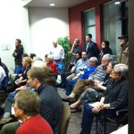 Standing room only at tonights forum on downtown #Olympia at #theolympian http://t.co/IPdsaTDgDH