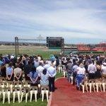 A sea of blue remembers apprentice jockey Caitlin Forrest at Morphettville #9newscomau http://t.co/2Bi811KR4f