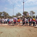 Over 70 ppl marched to protest Aboriginal deaths in custody in South #Hedland here where Ms Dhu died #Pilbara http://t.co/3ixzOChrdg