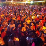 RT @Fatima_Bezerra: Os caravaneiros da liberdade chegam a Apodi para comício que conta com uma multidão em apoio a Robinson e Dilma. http://t.co/m1oYUTe9zx