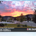 Tonights @KVUE Weather Snapshot of this mornings beautful sunrise! Did you see it? #atxwx http://t.co/E6yKEDjQsM