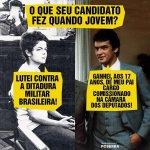 RT @epiccino: Eu me orgulho muito do passado da Dilma. Será que o eleitor do Aécio consegue dizer o mesmo? #13rasilTodoComDilma http://t.co/IUzmjk0GZ3