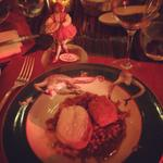RT @sarajosephNYC: @lecirquenyc not bad for a rainy Wednesday night! #foodporn http://t.co/o9h9ZkuLCF