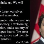 RT @MeanwhileinCana: Thoughtful and wise remarks from Justin Trudeau on Parliament Hill this evening. #cdnpoli http://t.co/xy4kV8mUdb http://t.co/fR6ysR0fru