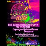 Tiket Bali @LightRunID akan di jual pada saat acara @BALIColorRun 26 oktober 2014 di lapangan selatan renon denpasar http://t.co/znOsCe9EmM