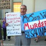 """My Son Was Murdered By @SalinasPD"" - Frank Alvarado Sr. Frank Jr. was killed July 10, 4th civilian of the year. #o22 http://t.co/HbJhn1HkbO"
