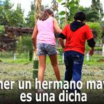 RT @elcomerciocom: #Sociedad / Lean estas razones por las cuáles tener hermanos mayores es bueno » http://t.co/5bQDqHezhL http://t.co/Reke8mr59x