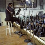 Johnny Cash performing for prisoners at Folsom Prison, January 13th, 1968 http://t.co/kNMHtgh6MQ