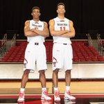 "6'6"" & 6'8"" freshmen forwards Justin Gray and Zach Smith. #WreckEm http://t.co/YI6NGQdaa3"