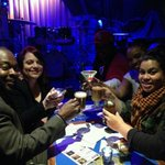 The toast before @MaraHruby serenaded us #tbt #nyc @BlueNoteNYC http://t.co/lQ7clyHVBA