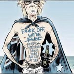 Brilliant cartoon by @davpope captures the heartbreaking hypocrisy of #asylumseeker policy in #Australia #auspol http://t.co/3CL9oHfc2O