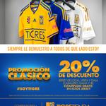 RT @TigreTiendaOfic: 20% de descuento en jersey @TigresOficial local, visita y gala 2014. Estampado gratis. #SoyTigre http://t.co/vbwa4IoWRE